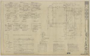 Primary view of object titled 'School Cafeteria Building Iraan, Texas: Foundation Plan and Details'.