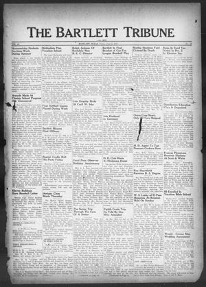 Primary view of object titled 'The Bartlett Tribune and News (Bartlett, Tex.), Vol. 60, No. 34, Ed. 1, Friday, June 6, 1947'.