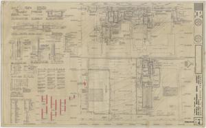 Primary view of object titled 'School Gymnasium Building Iraan, Texas: Plot Plan and Details'.