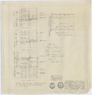 Primary view of object titled 'High School Building Monahans, Texas: Supplemental Drawings'.