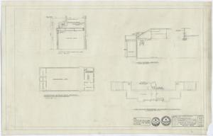 Primary view of object titled 'High School Building Monahans, Texas: Plans of Sections'.