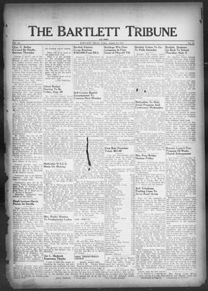 Primary view of object titled 'The Bartlett Tribune and News (Bartlett, Tex.), Vol. 60, No. 45, Ed. 1, Friday, August 22, 1947'.