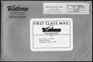 "[Manila envelope from ""The Cattleman""]"