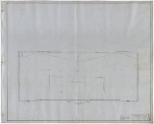 Primary view of object titled 'High School Building Midland, Texas: Roof Plan'.
