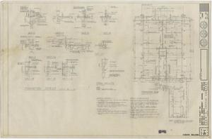 Primary view of object titled 'School Science Building Iraan, Texas: Foundation Plan and Details'.