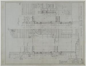 Primary view of object titled 'First Baptist Church, Albany, Texas: Front Elevation Details'.