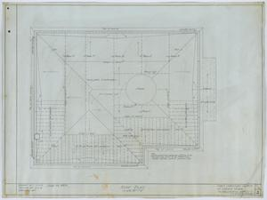 Primary view of object titled 'First Christian Church, Lufkin, Texas: Roof Plan'.