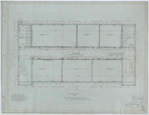 Primary view of object titled 'Holy Trinity Parish School Building, Dallas, Texas: First Floor Plan'.