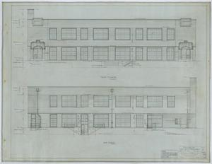 Primary view of object titled 'Holy Trinity Parish School Building, Dallas, Texas: Elevations'.