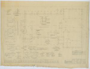 Primary view of object titled 'Community Church, Kermit, Texas: Foundation Plan'.