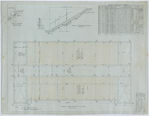 Primary view of object titled 'Holy Trinity Parish School Building, Dallas, Texas: Second Floor Framing Plan'.