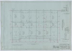 Primary view of object titled 'Holy Trinity Parish School Building, Dallas, Texas: First Floor Framing Plan'.