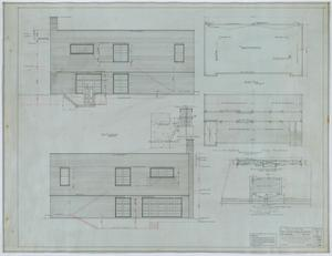 Primary view of object titled 'Holy Trinity Parish School Building, Dallas, Texas: Elevations and Plans'.