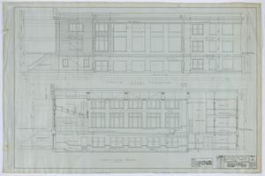 Primary view of object titled 'First Methodist Church, Ballinger, Texas: Section and Elevation]'.