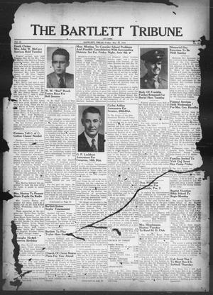 Primary view of object titled 'The Bartlett Tribune and News (Bartlett, Tex.), Vol. 61, No. 31, Ed. 1, Friday, May 28, 1948'.