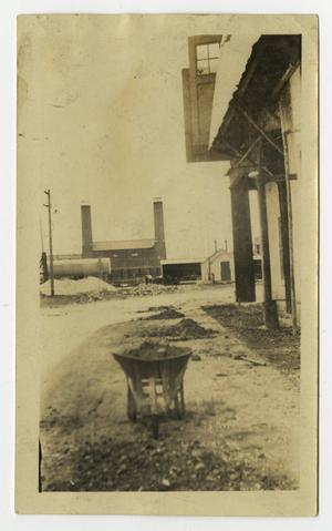 "Primary view of object titled 'Back Lakeside Power Station ""Before""'."
