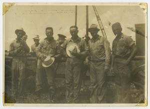 Primary view of object titled '[Unidentified Men]'.