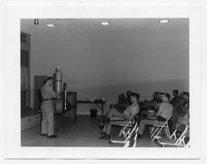 Primary view of object titled '[Police Department Meeting at Beaumont Service Center #2]'.