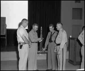 [Police Department Meeting at Beaumont Service Center #9]