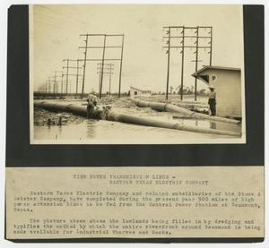 Primary view of object titled 'High Power Transmission Lines'.