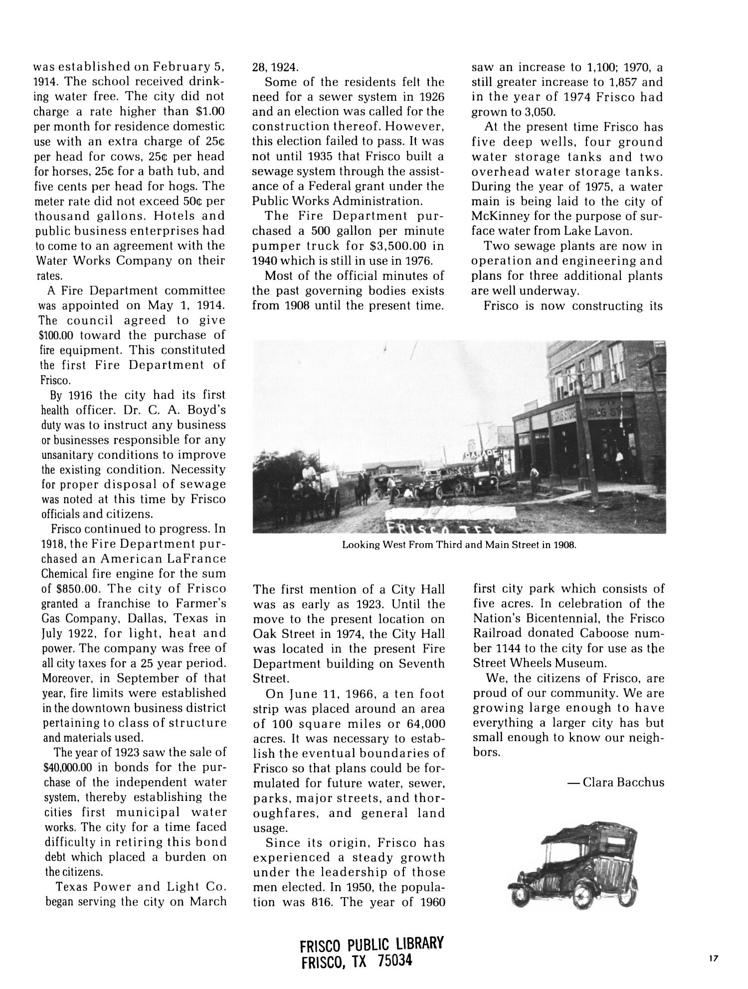 The History of Frisco 1902-1976 - Page 17 - The Portal to