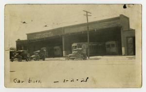 Primary view of object titled 'Car Barn - Port Arthur Traction Co.'.