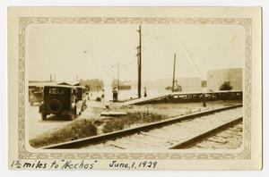 "Primary view of object titled '1½ Miles to ""Neches""'."