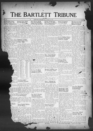 Primary view of object titled 'The Bartlett Tribune and News (Bartlett, Tex.), Vol. 61, No. 50, Ed. 1, Friday, October 15, 1948'.
