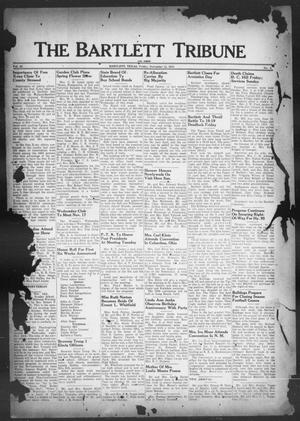 Primary view of object titled 'The Bartlett Tribune and News (Bartlett, Tex.), Vol. 62, No. 2, Ed. 1, Friday, November 12, 1948'.