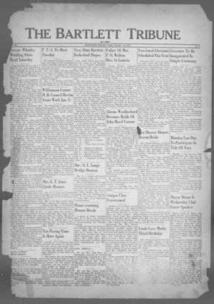 Primary view of object titled 'The Bartlett Tribune and News (Bartlett, Tex.), Vol. 64, No. 9, Ed. 1, Friday, January 12, 1951'.