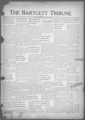Primary view of object titled 'The Bartlett Tribune and News (Bartlett, Tex.), Vol. 64, No. 13, Ed. 1, Friday, February 9, 1951'.