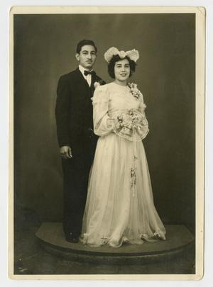 [Portrait of Bride and Groom]