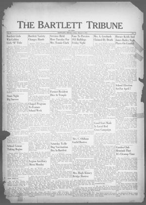 Primary view of object titled 'The Bartlett Tribune and News (Bartlett, Tex.), Vol. 64, No. 17, Ed. 1, Friday, March 9, 1951'.