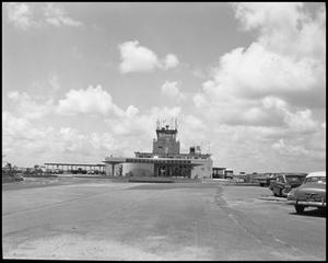 Primary view of object titled '[View of Airways Inn at Jefferson County Airport #3]'.