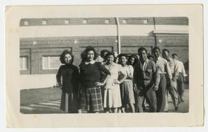 [Photograph of Group of School Students]