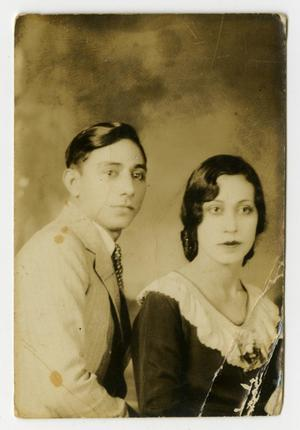 [Portrait of Man and Woman]