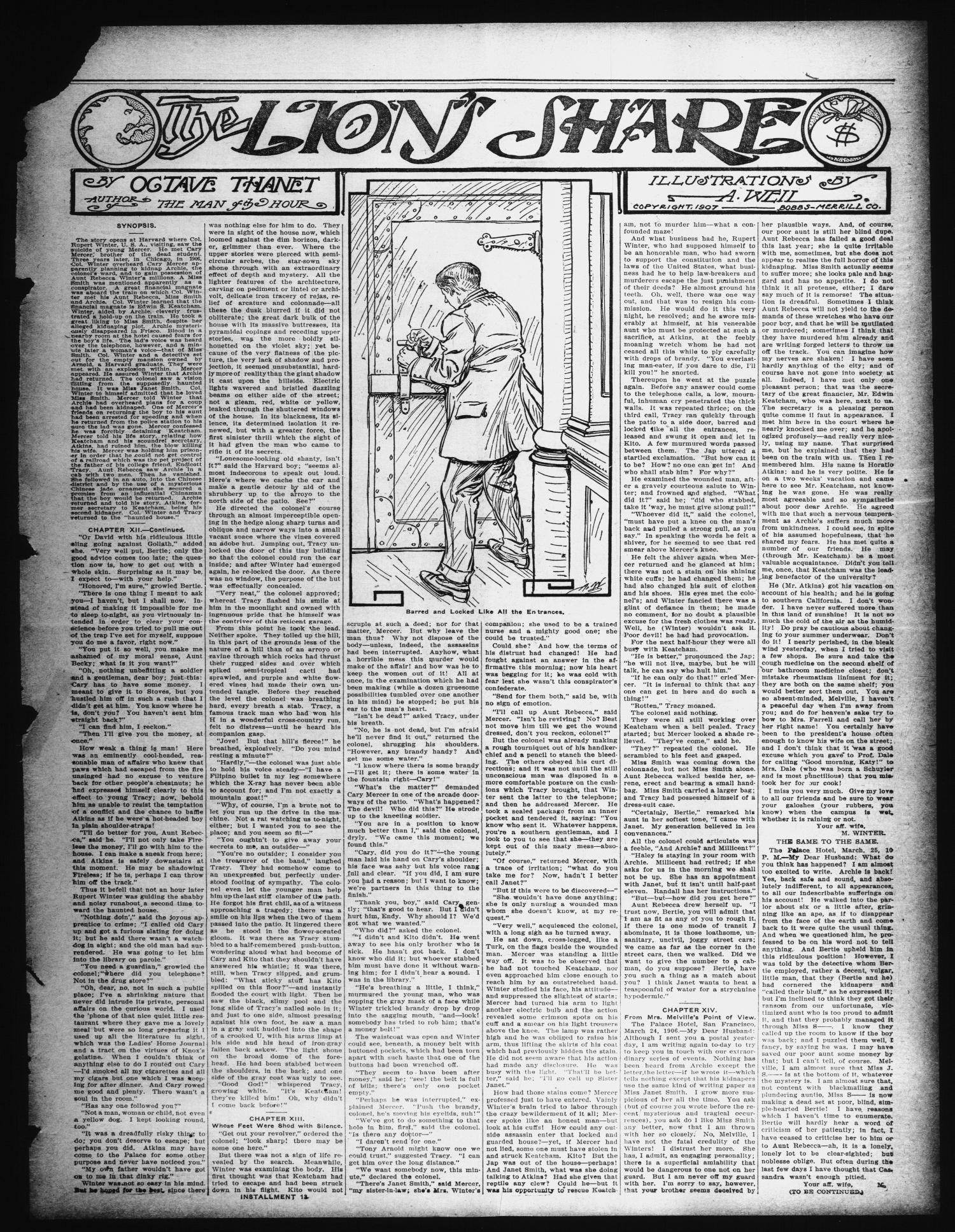 The Cumby Rustler. (Cumby, Tex.), Vol. 18, No. 16, Ed. 1 Friday, July 16, 1909                                                                                                      [Sequence #]: 3 of 8