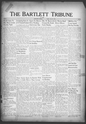 Primary view of object titled 'The Bartlett Tribune and News (Bartlett, Tex.), Vol. 64, No. 37, Ed. 1, Friday, July 27, 1951'.