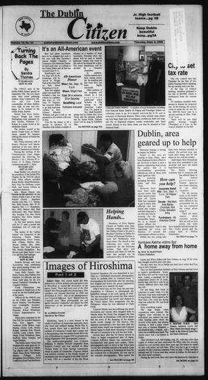 Primary view of object titled 'The Dublin Citizen (Dublin, Tex.), Vol. 15, No. 54, Ed. 1 Thursday, September 8, 2005'.