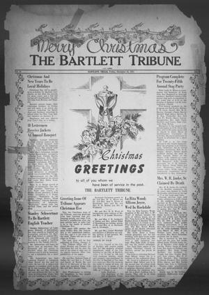 Primary view of object titled 'The Bartlett Tribune and News (Bartlett, Tex.), Vol. 65, No. 8, Ed. 1, Friday, December 28, 1951'.