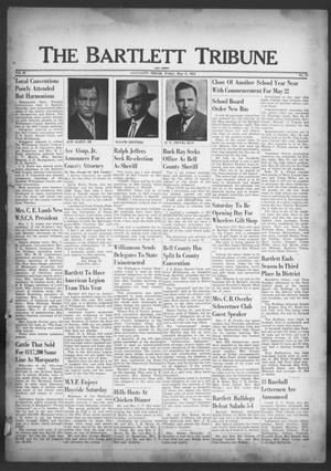 Primary view of object titled 'The Bartlett Tribune and News (Bartlett, Tex.), Vol. 65, No. 27, Ed. 1, Friday, May 9, 1952'.