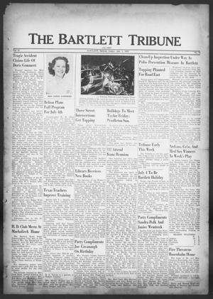 Primary view of object titled 'The Bartlett Tribune and News (Bartlett, Tex.), Vol. 65, No. 35, Ed. 1, Friday, July 4, 1952'.