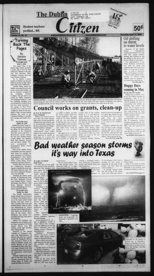 Primary view of object titled 'The Dublin Citizen (Dublin, Tex.), Vol. 15, No. 33, Ed. 1 Thursday, April 14, 2005'.