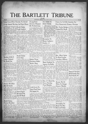The Bartlett Tribune and News (Bartlett, Tex.), Vol. 65, No. 38, Ed. 1, Friday, July 25, 1952