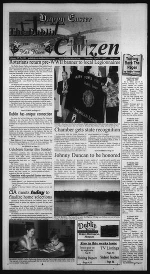 Primary view of object titled 'The Dublin Citizen (Dublin, Tex.), Vol. 17, No. 31, Ed. 1 Thursday, April 5, 2007'.