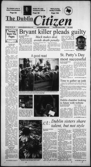 Primary view of object titled 'The Dublin Citizen (Dublin, Tex.), Vol. 16, No. 32, Ed. 1 Thursday, April 6, 2006'.