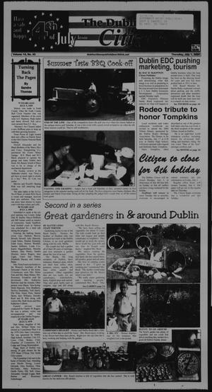 Primary view of object titled 'The Dublin Citizen (Dublin, Tex.), Vol. 14, No. 43, Ed. 1 Thursday, July 1, 2004'.
