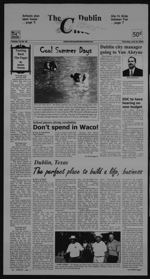 Primary view of object titled 'The Dublin Citizen (Dublin, Tex.), Vol. 14, No. 46, Ed. 1 Thursday, July 22, 2004'.