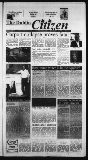 Primary view of object titled 'The Dublin Citizen (Dublin, Tex.), Vol. 17, No. 6, Ed. 1 Thursday, October 12, 2006'.