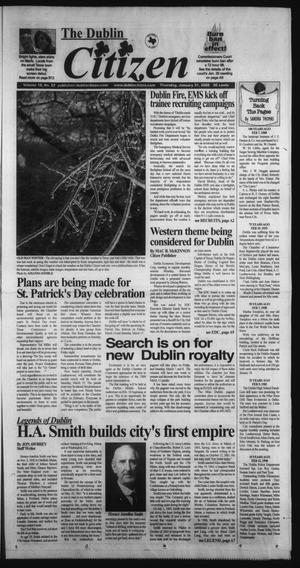 Primary view of object titled 'The Dublin Citizen (Dublin, Tex.), Vol. 18, No. 22, Ed. 1 Thursday, January 31, 2008'.